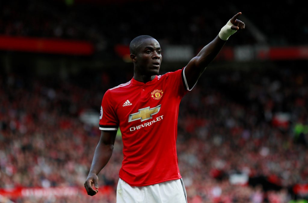 Manchester United's Eric Bailly.
