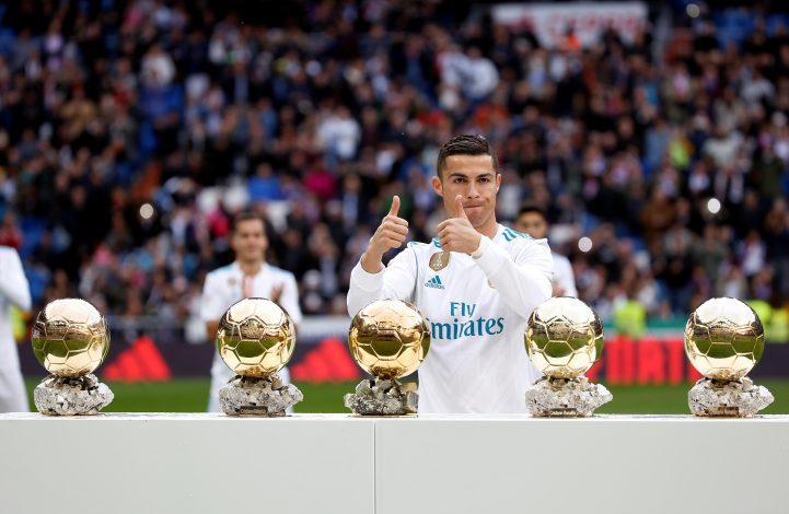 Ronaldo Beats Messi To Win Fifth Ballon d'Or
