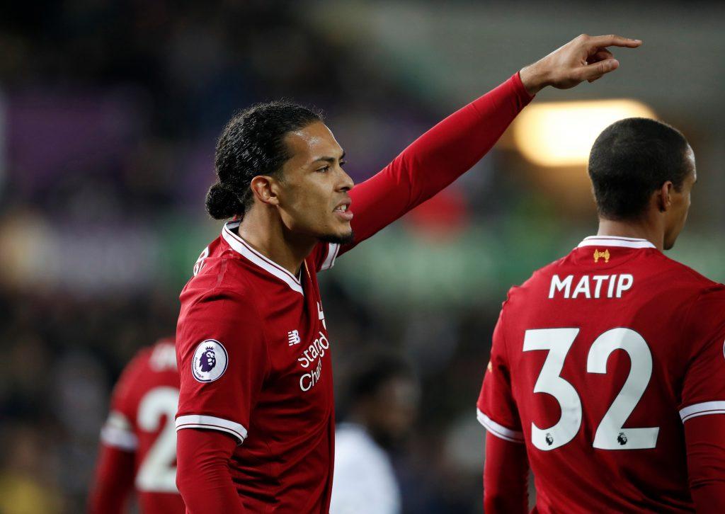 Liverpool's Virgil van Dijk.