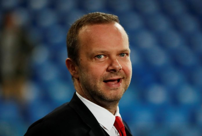 Manchester United executive vice-chairman Ed Woodward before the match.