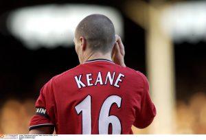 Roy Keane of Manchester United.