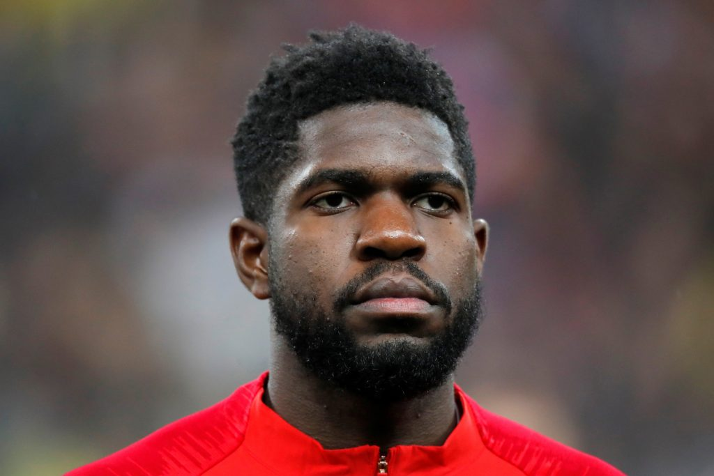 France player Samuel Umtiti.