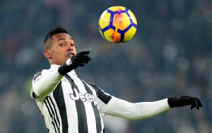 Juventus' Alex Sandro in action.