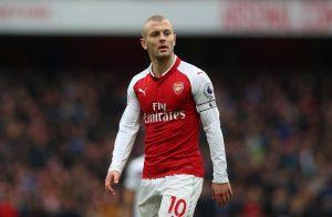 Arsenal's Jack Wilshere.