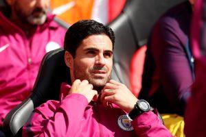 Manchester City co assistant coach Mikel Arteta.