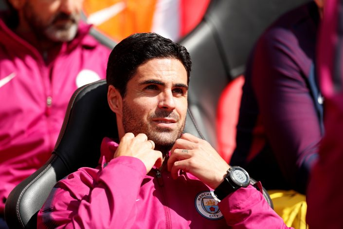 Manchester City co assistant coach Mikel Arteta.