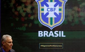 Brazil's head coach Tite.