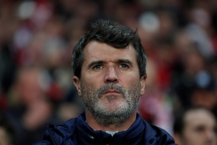 Republic of Ireland assistant manager Roy Keane.