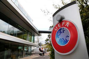 The UEFA headquarters.