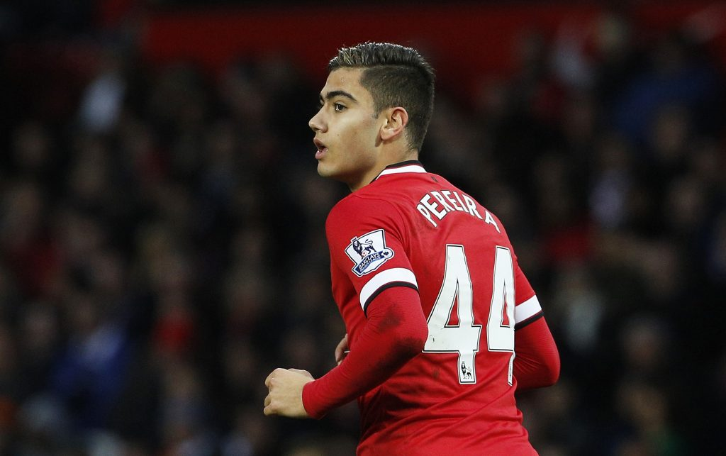 Manchester United's Andreas Pereira.