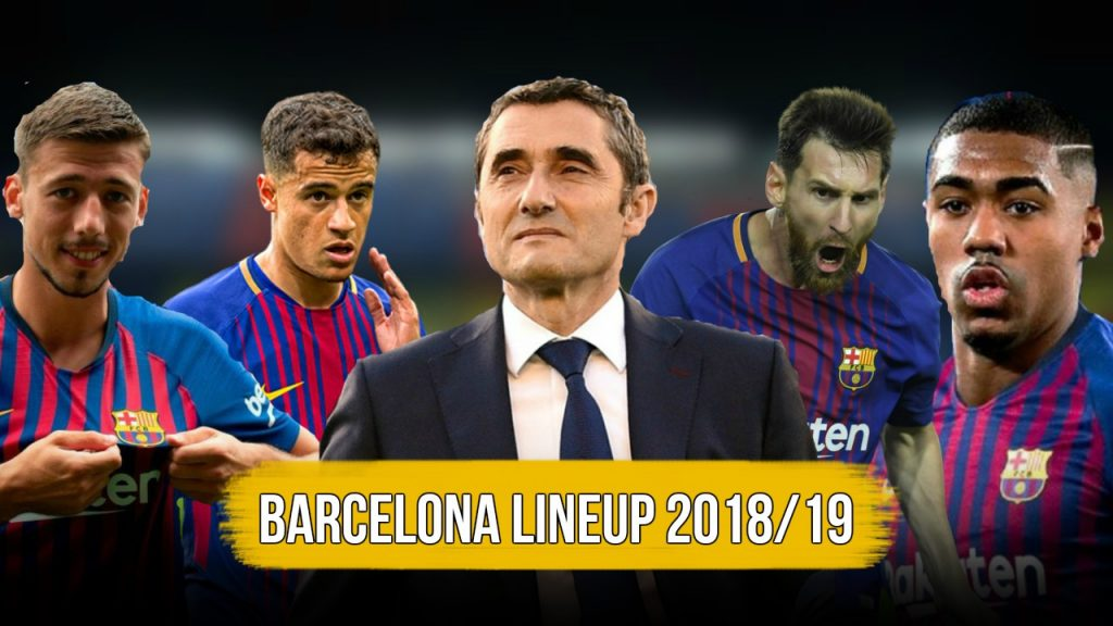 barcelona lineup 2018/19 edits