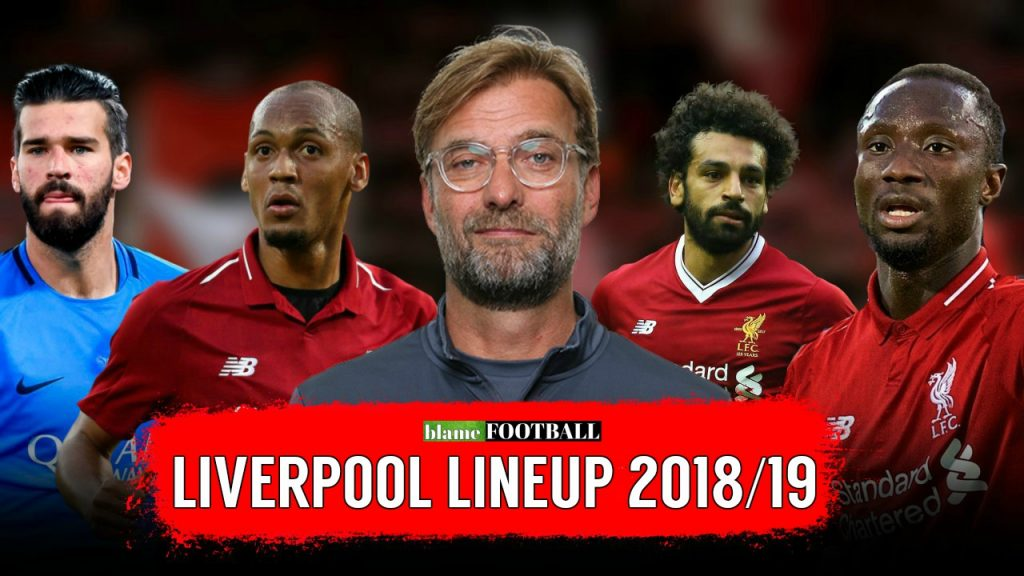 liverpool lineup edits