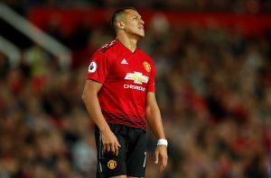 Manchester United's Alexis Sanchez.