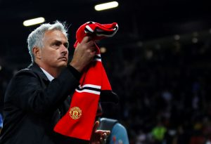 Man Utd manager Jose Mourinho after the match.