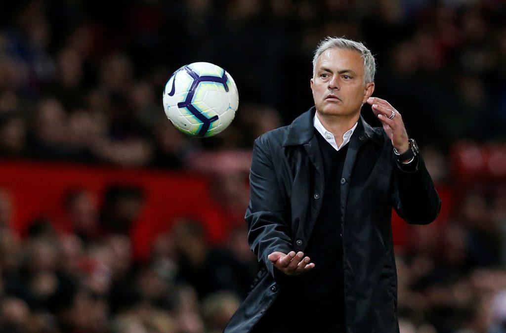 MUFC manager Jose Mourinho.