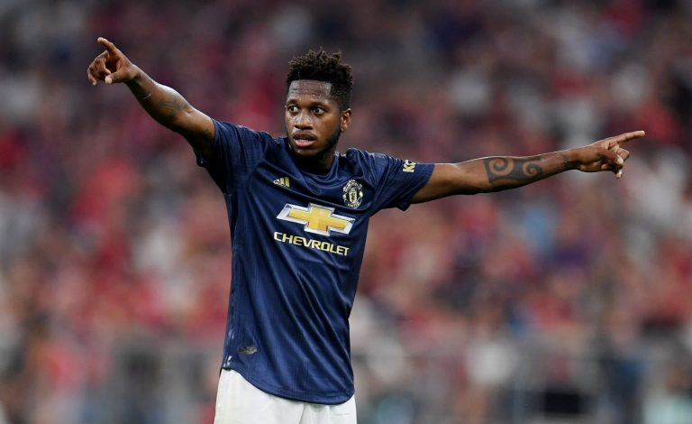 Manchester United's Fred.