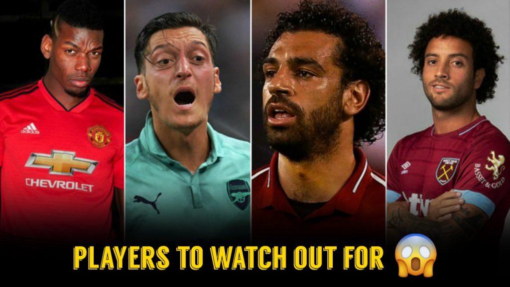 premier league important players edits