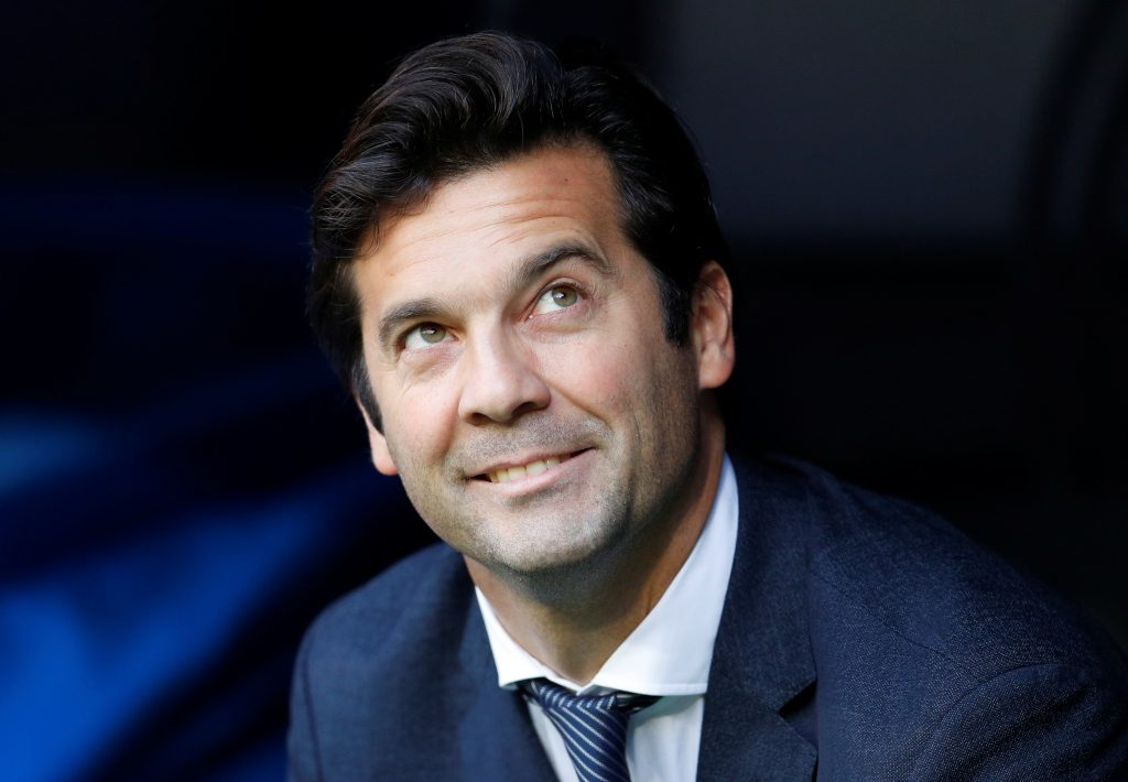 Real Madrid interim coach Santiago Solari.
