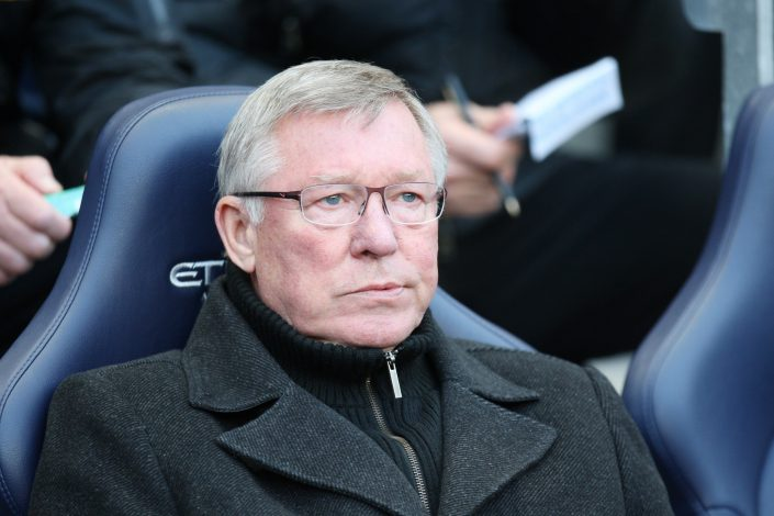 Manchester United manager Sir Alex Ferguson.