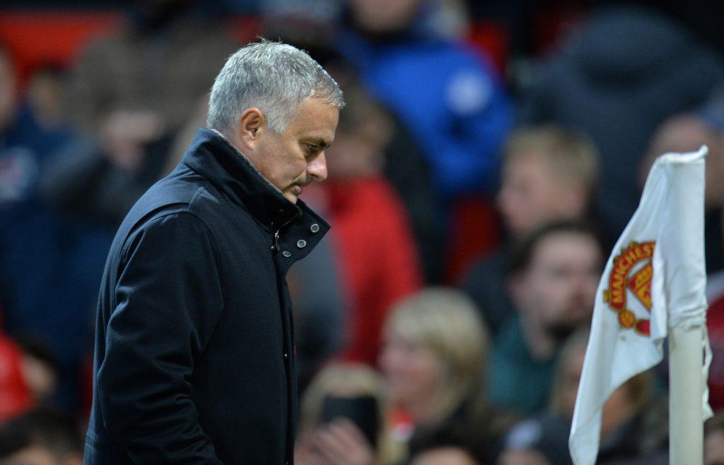 Man Utd manager Jose Mourinho.