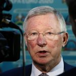 Sir Alex Ferguson speaks to the media during the UEFA Euro 2020 Glasgow Logo Launch.