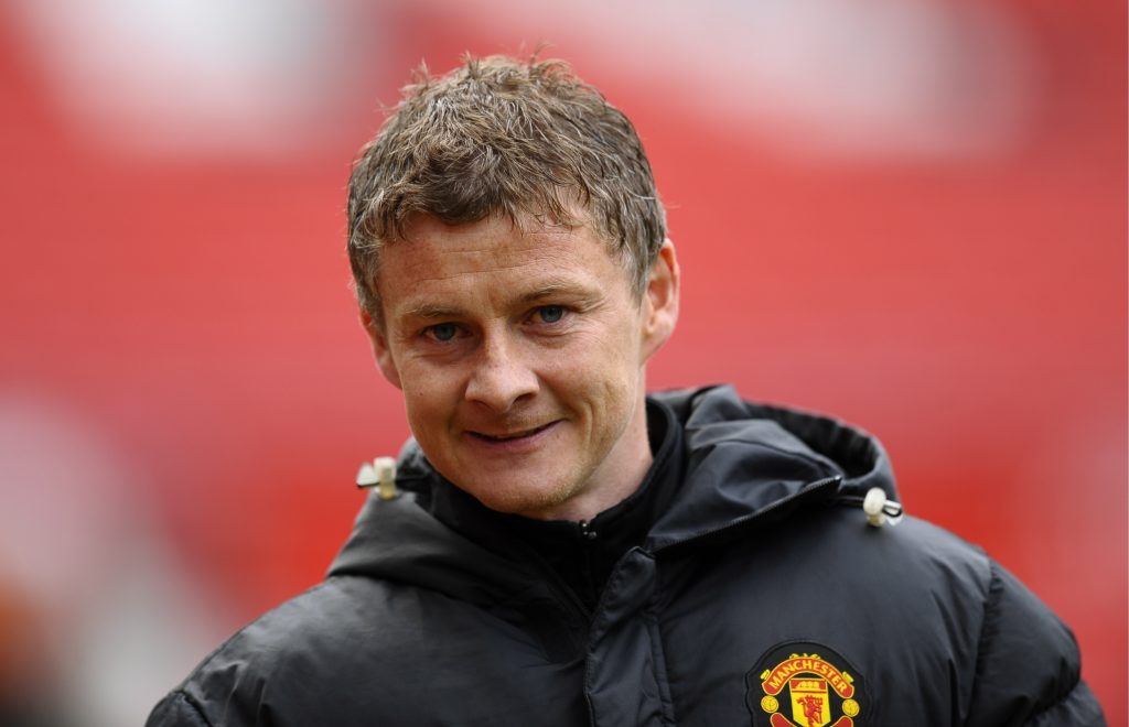 Man Utd reserves manager Ole Gunnar Solskjaer.