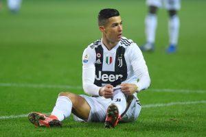 Juventus' Cristiano Ronaldo.