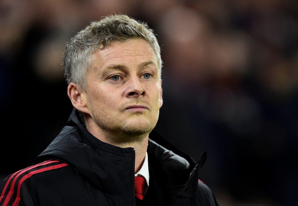 Manchester United interim manager Ole Gunnar Solskjaer.