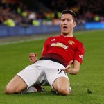 Manchester United's Ander Herrera celebrates scoring their second goal.