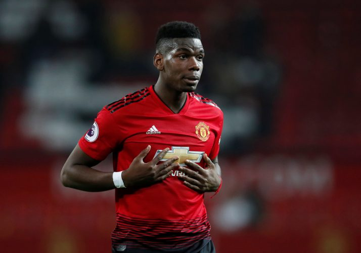 Manchester United's Paul Pogba.