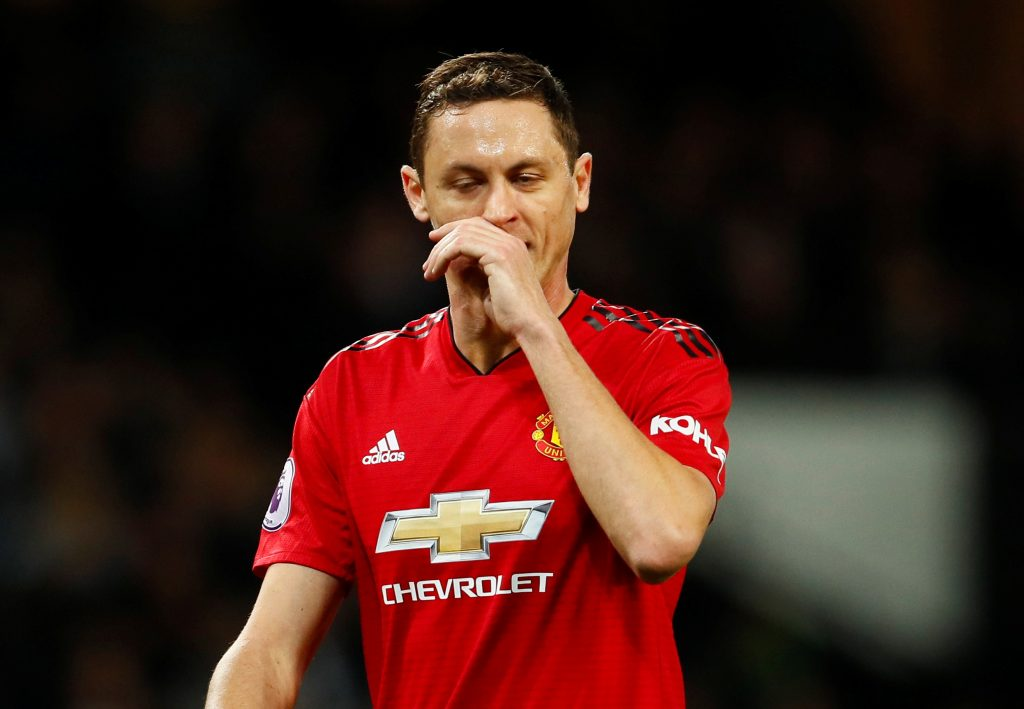 Manchester United's Nemanja Matic.