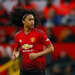 Manchester United's Tahith Chong in action.