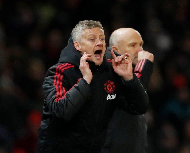 Man Utd manager Ole Gunnar Solskjaer.