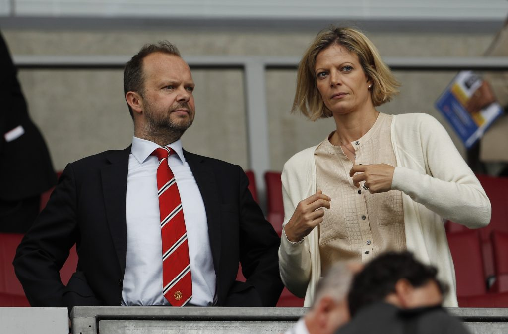 Man Utd executive vice chairman Ed Woodward.