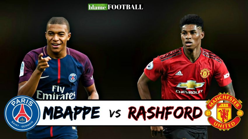 Rashford Vs Mbappe Who Is The More Promising Youngster