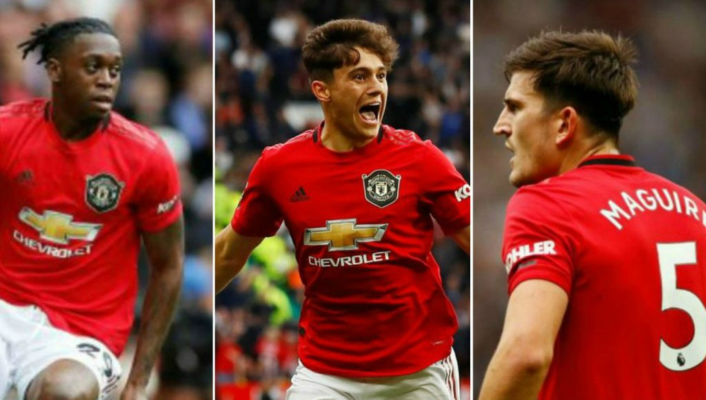 Image result for Maguire daniel james aaron wan-bissaka