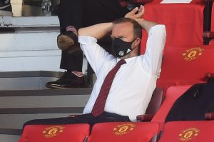 Manchester United executive vice chairman Ed Woodward.