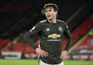 Manchester United's Victor Lindelof.