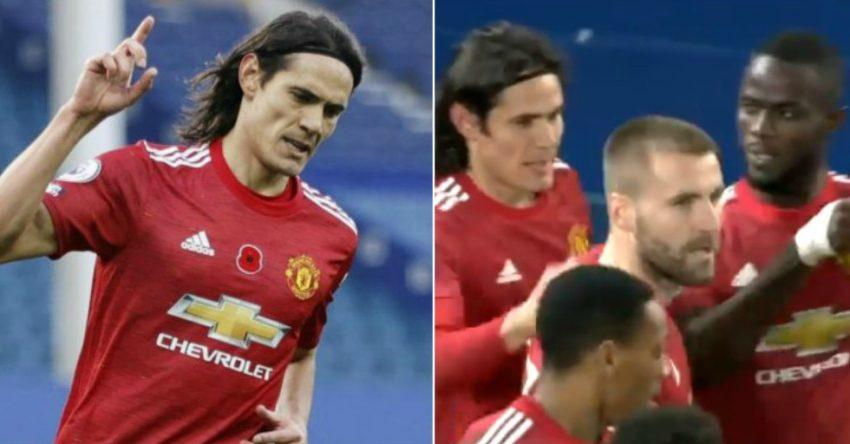 Man Utd fans love how Eric Bailly reacted after Edinson Cavani's goal