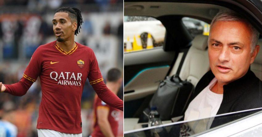 Mourinho Smalling Roma edits