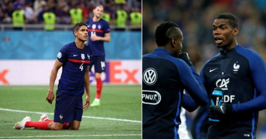 Pogba Varane France edits