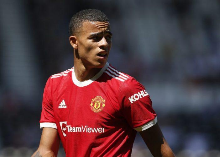 Manchester United's Mason Greenwood.
