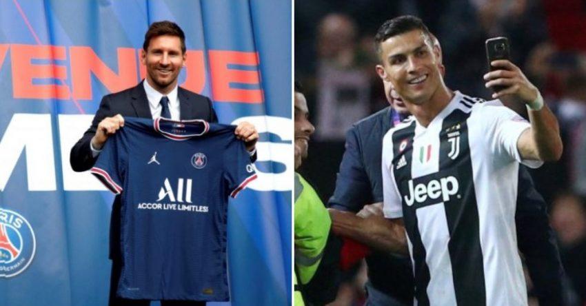 Ronaldo United Messi PSG edits