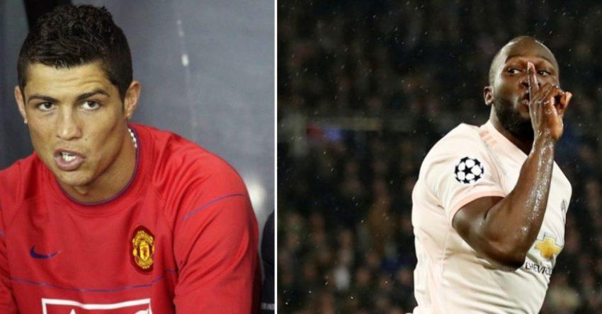 Lukaku Ronaldo comparison edits