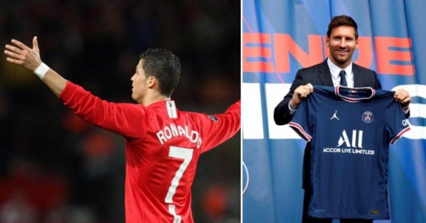 Ronaldo Messi Shirt edits