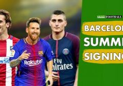 Barcelona signings
